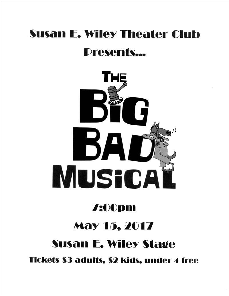 big bad musical flyer