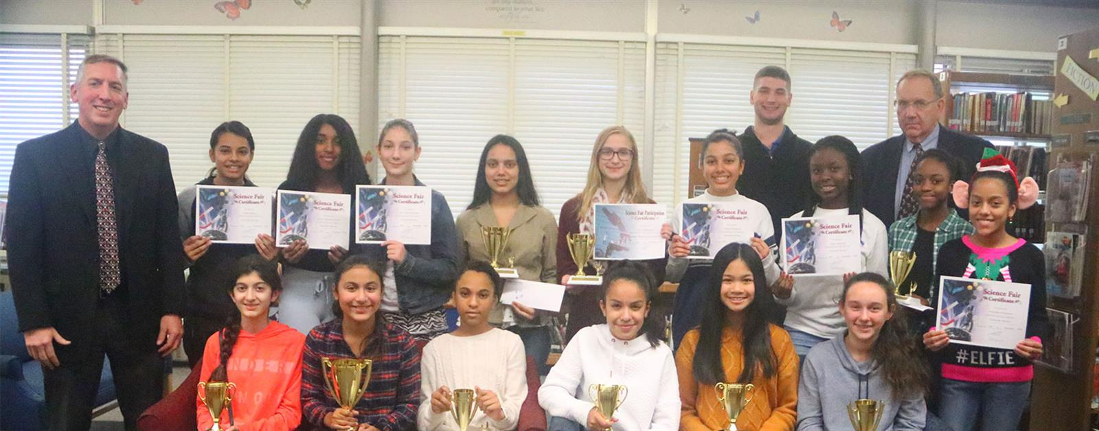 Budding Scientists Show Off Their Skills photo