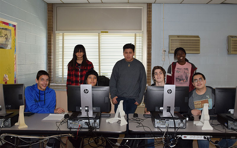 Club Fuels Students' Love of Technology photo