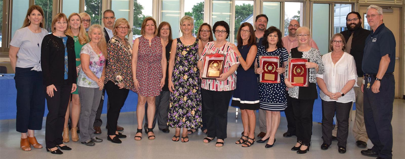 Retirees, Newly Tenured Teachers Honored photo