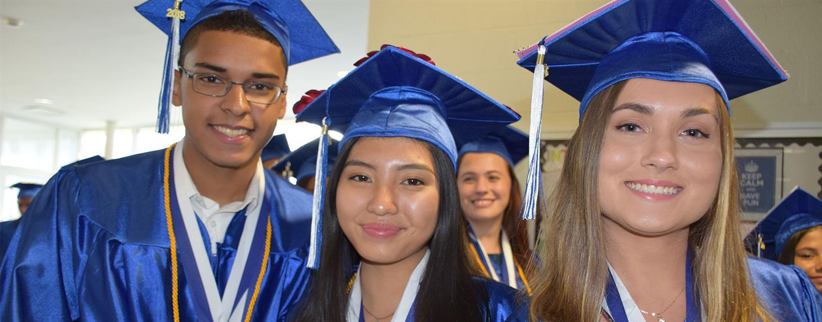 Copiague's Class of 2018 marches on photo