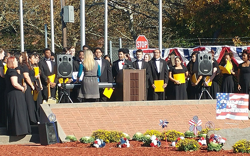 Madrigals Join in Veterans Day Remembrance photo