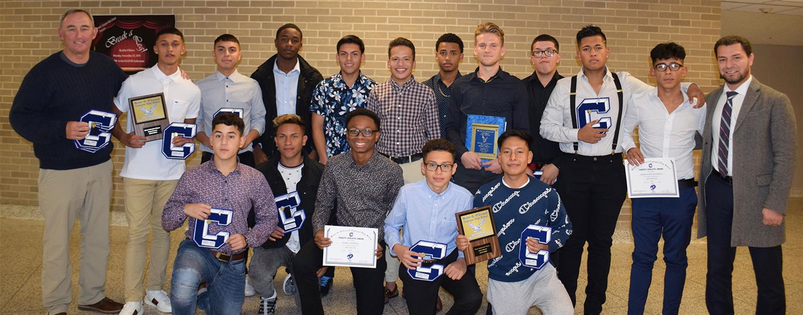Fall Athletes Acknowledged at Annual Awards photo
