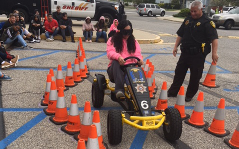 Young Drivers Get Schooled in Safety photo