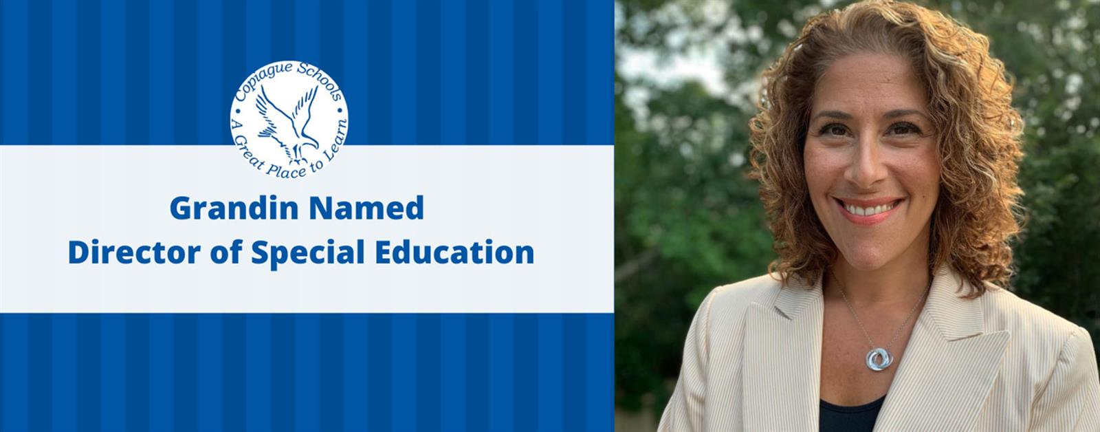 Grandin Named Director of Special Education