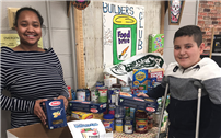 Builders Club Helps Fight Hunger at Home photo