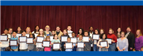 Board of Education Commends Student Accomplishments photo