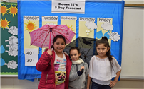 Third-Grade Weather Watchers Report Their Forecast