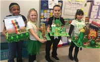 Lucky First-Graders Build Leprechaun Traps photo thumbnail92706