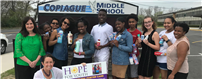 Copiague Student Council Lends a Helping Hand photo