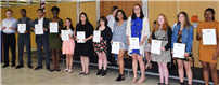 Artists, Musicians Inducted Into Honor Societies Photo