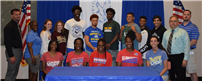 Student-Athletes Commit to College Sports photo