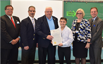 Sixth-Grader Honored for her Service Initiative Photo