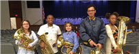 Day of Tuba Joins Local Student-Musicians
