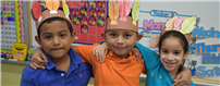 Kindergartners Celebrate Thanksgiving photo