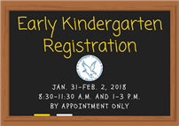 Early Kindergarten Registration thumbnail85030