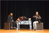 Drama Students Prep for Performances photo 2