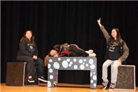 Drama Students Prep for Performances photo 4