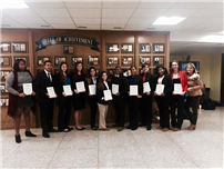 DECA Members Head to States 4