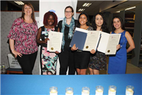 Three Students Recognized for Humanitarian Efforts photo 2