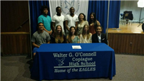 Senior-Athletes Commit to College Sports Photo 2