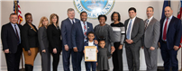 DGW First-Grader Inducted as Town Ambassador photo