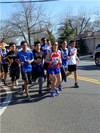 Copiague Teams Cheer on Casale photo 2