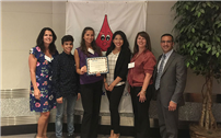 Key Club Recognized for Service Efforts Pic
