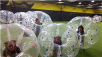 Varsity Club Connects with Bubble Soccer Photo 2