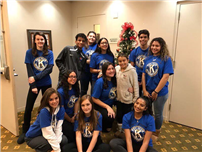 Key Club Gives Back for Holidays photo2
